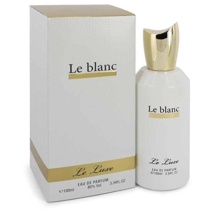 Le Luxe Le blanc by Le Luxe Eau De Parfum Spray 3.4 oz for Women - Oliavery