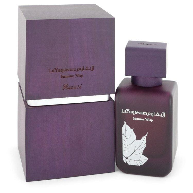 La Yuqawam Jasmine Wisp by Rasasi Eau De Parfum Spray 2.5 oz for Women - Oliavery