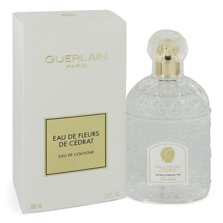 Eau De Fleurs De Cedrat by Guerlain Eau De Cologne Spray 3.3 oz  for Women - Oliavery