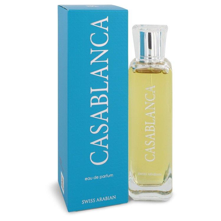 Casablanca by Swiss Arabian Eau De Parfum Spray 3.4 oz for Women - Oliavery