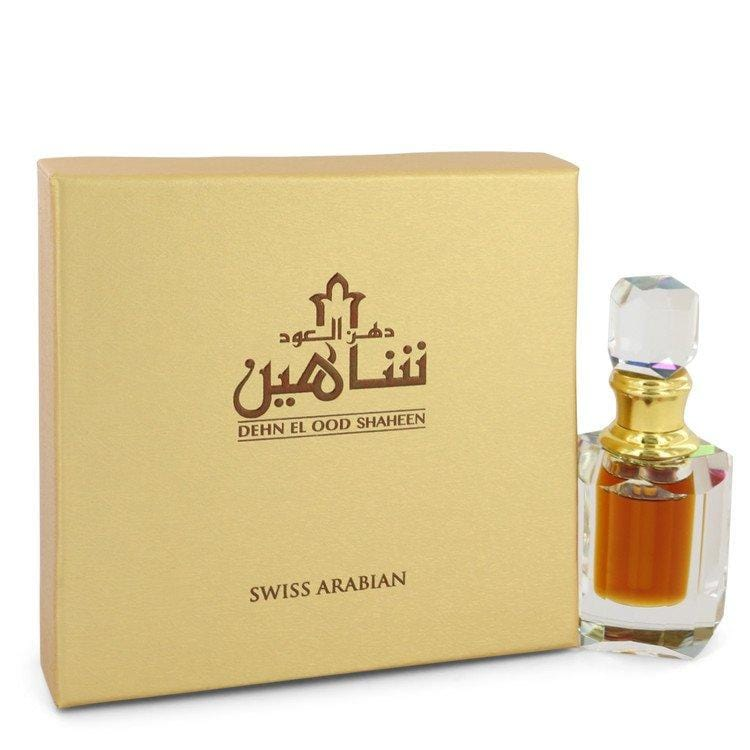 Dehn El Oud Shaheen by Swiss Arabian Extrait De Parfum (Unisex) .2 oz for Men - Oliavery