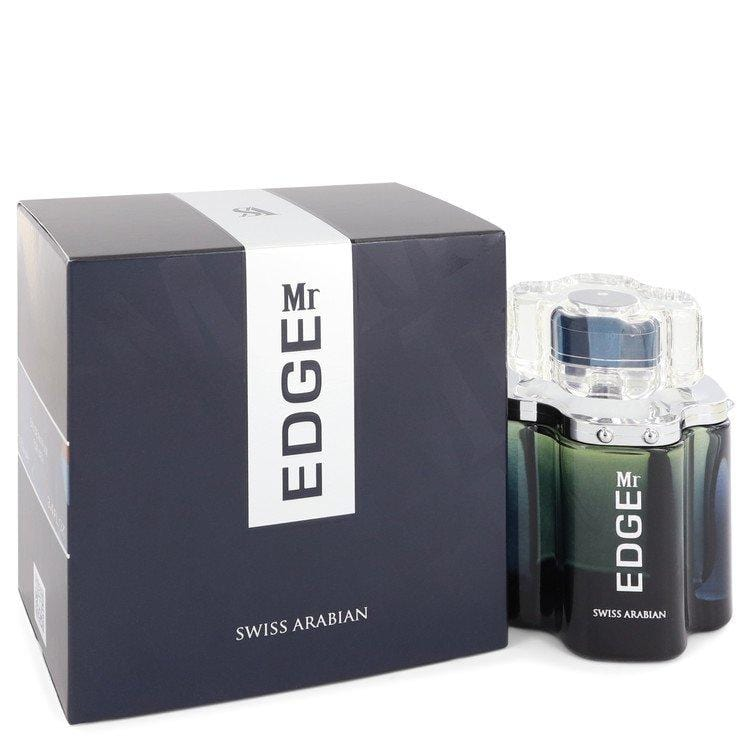 Mr Edge by Swiss Arabian Eau De Parfum Spray 3.4 oz for Men - Oliavery