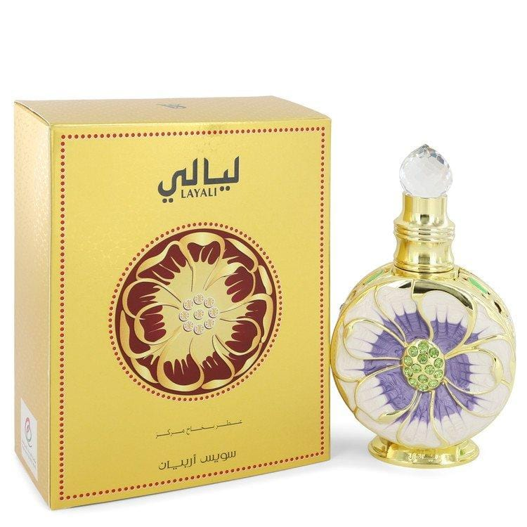 Swiss Arabian Layali by Swiss Arabian Eau De Parfum Spray (Unisex) 1.7 oz for Women - Oliavery