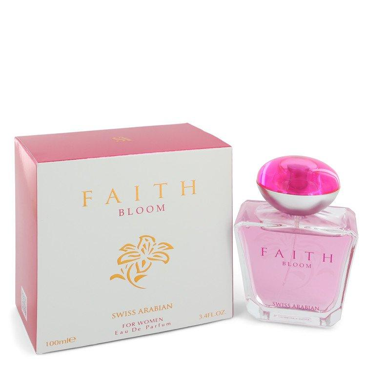 Swiss Arabian Faith Bloom by Swiss Arabian Eau De Parfum Spray 3.4 oz for Women - Oliavery