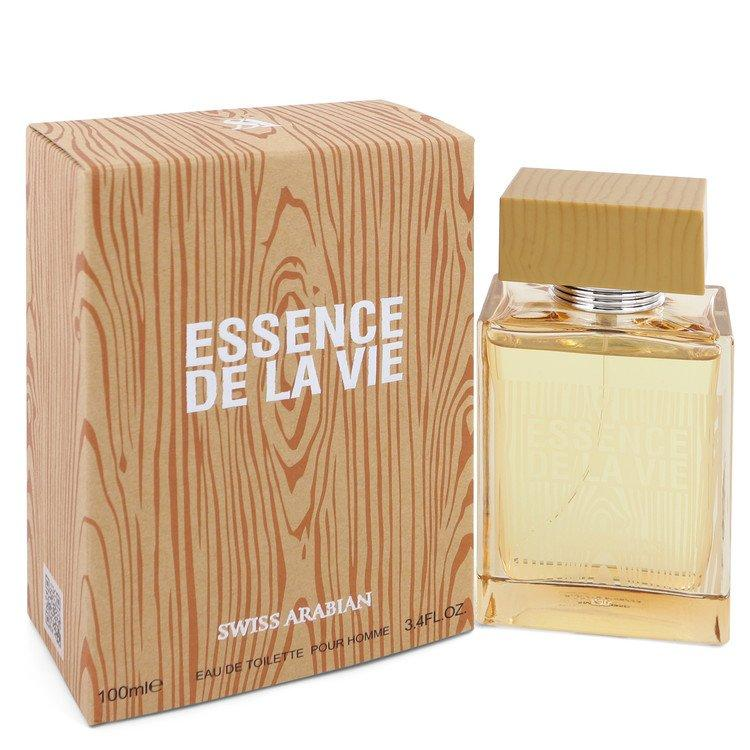 Essence De La Vie by Swiss Arabian Eau De Toilette Spray 3.4 oz for Men - Oliavery