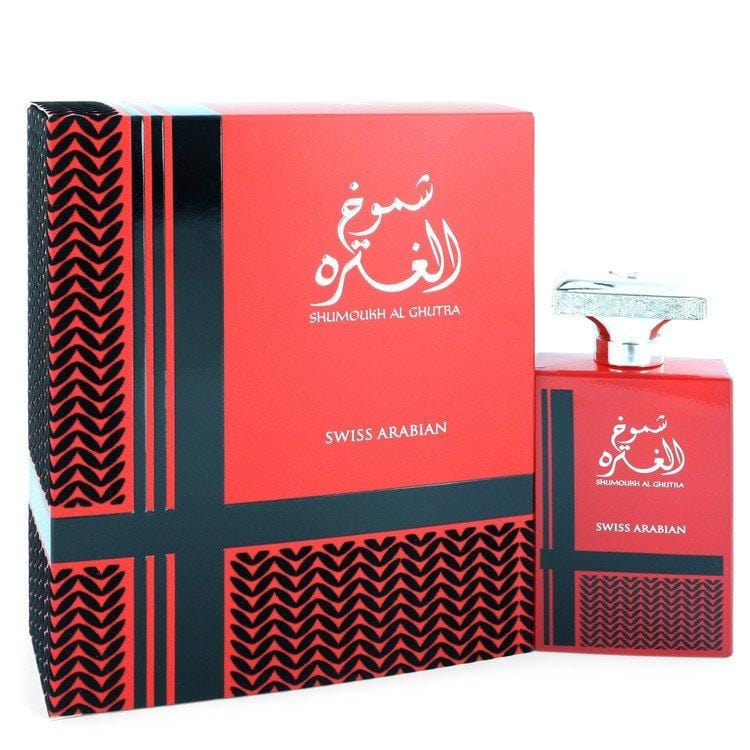 Shumoukh Al Ghutra by Swiss Arabian Eau De Parfum Spray 3.4 oz for Men - Oliavery