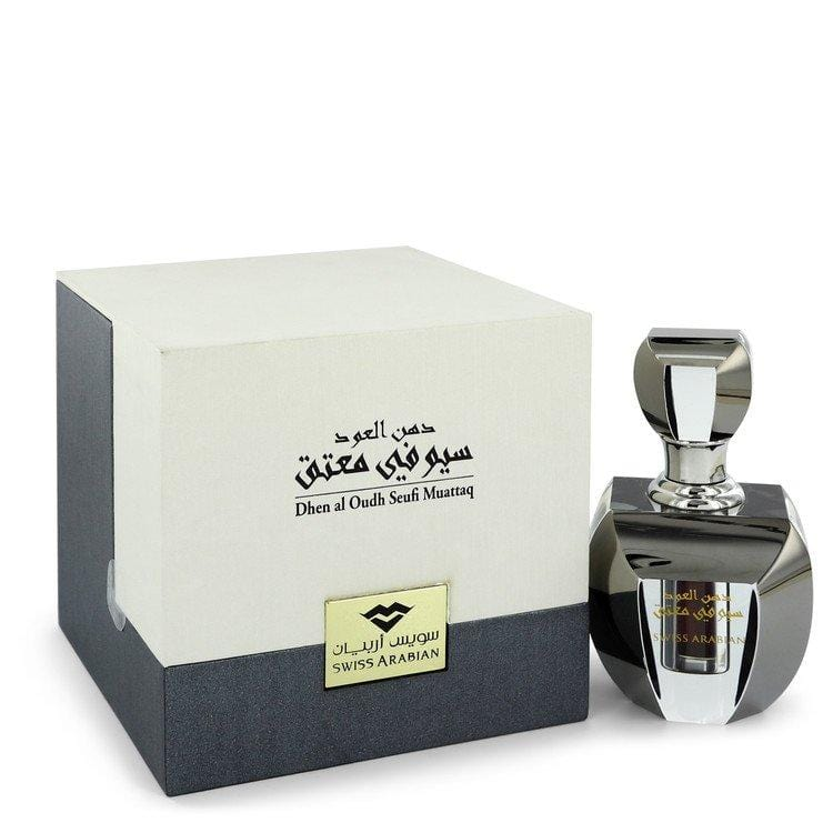 Dehn El Oud Seufi Muattaq by Swiss Arabian Extrait De Parfum .20 oz for Women