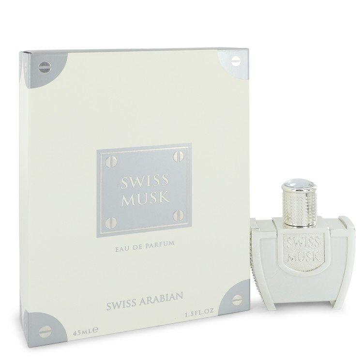 Swiss Musk by Swiss Arabian Eau De Parfum Spray (Unisex) 1.5 oz for Men - Oliavery