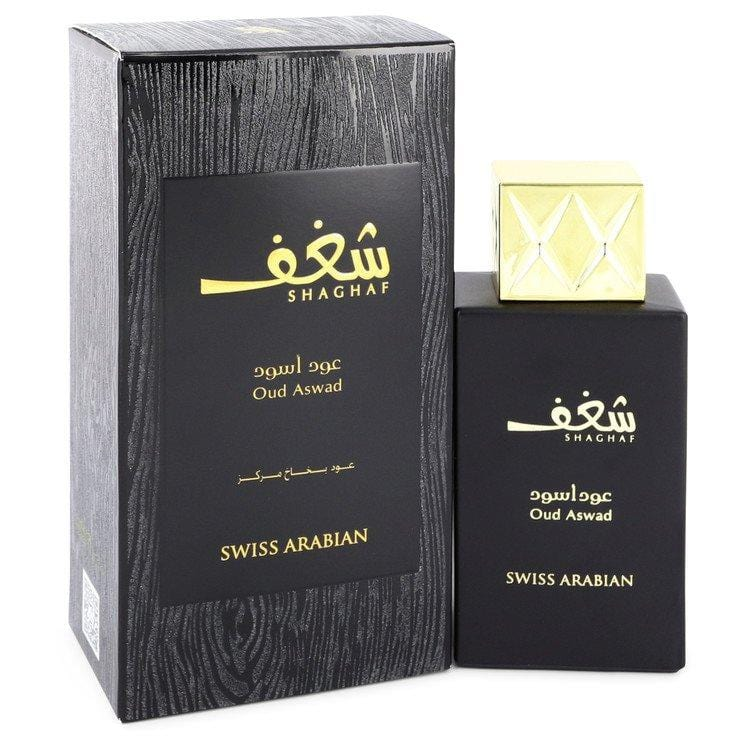 Shaghaf Oud Aswad by Swiss Arabian Eau De Parfum Spray 2.5 oz for Women - Oliavery