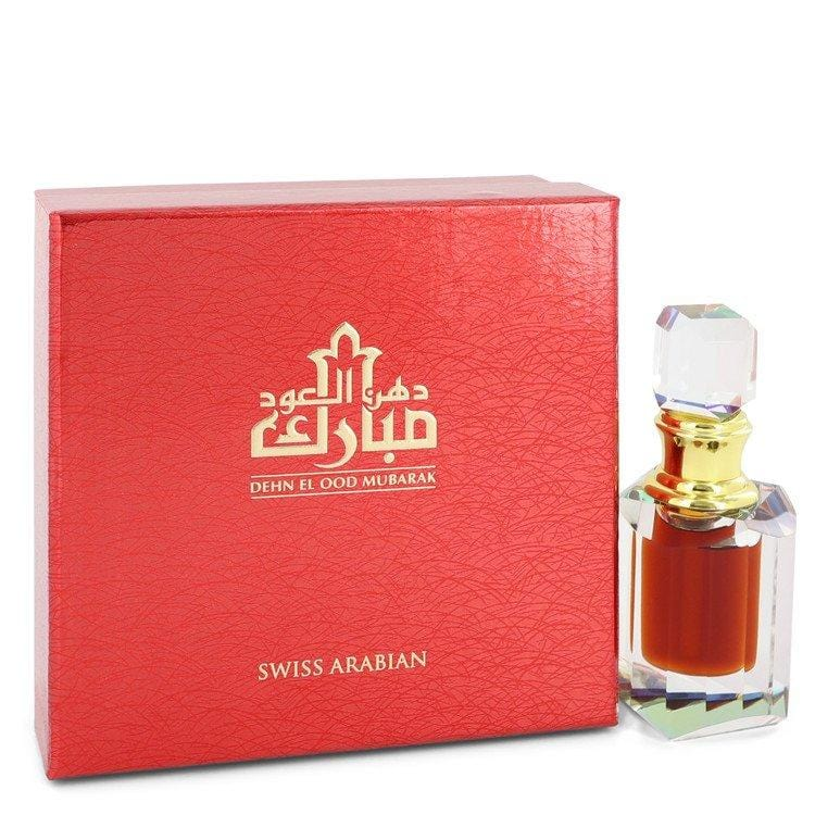 Dehn El Oud Mubarak by Swiss Arabian Extrait De Parfum (Unisex) .20 oz for Men - Oliavery