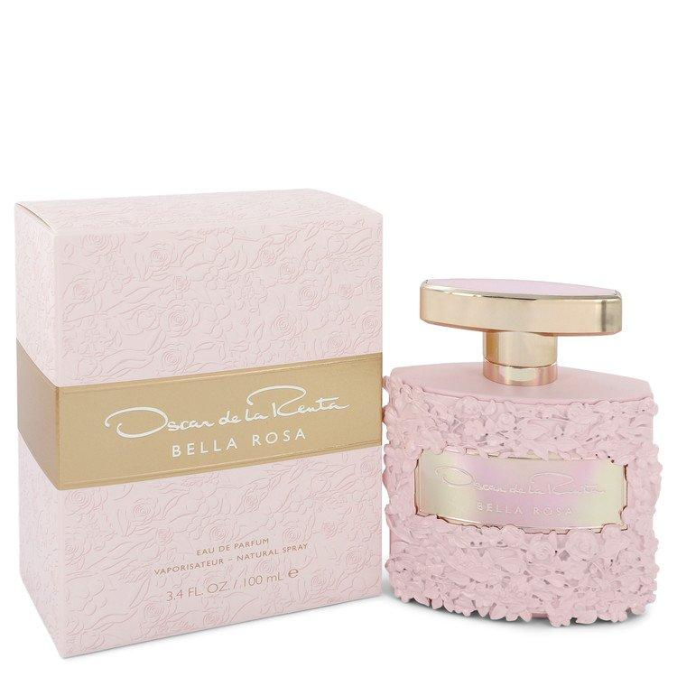 Bella Rosa by Oscar De La Renta Eau De Parfum Spray 3.4 oz for Women - Oliavery