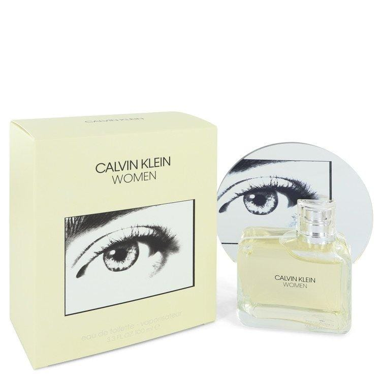 Calvin Klein Woman by Calvin Klein Eau De Toilette Spray 3.3 oz  for Women - Oliavery