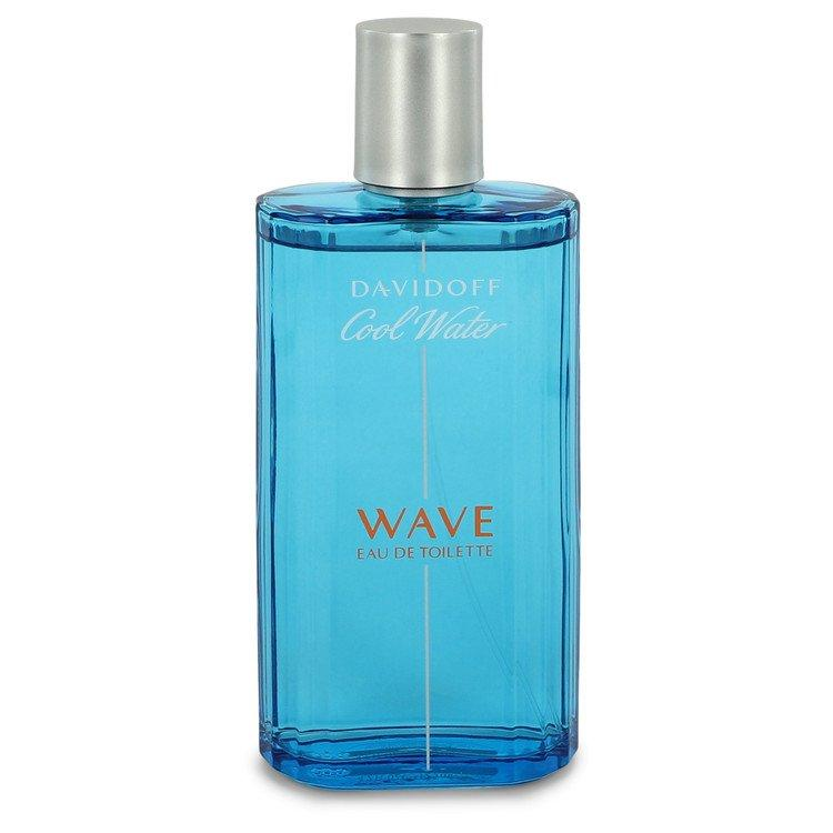 Cool Water Wave by Davidoff Eau De Toilette Spray (unboxed) 4.2 oz  for Men - Oliavery