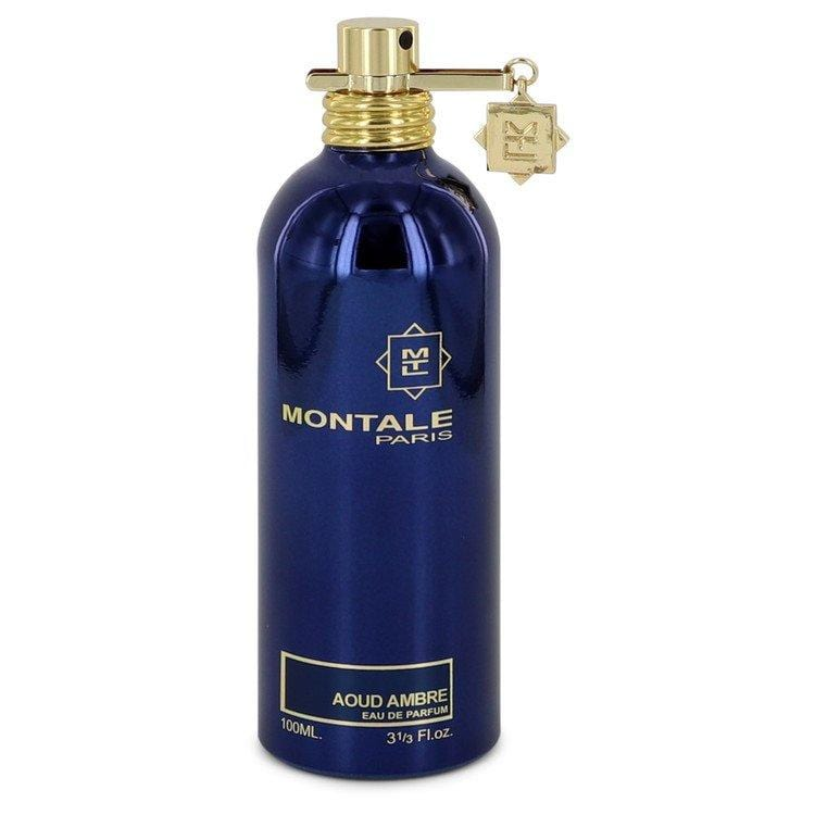 Montale Aoud Ambre by Montale Eau De Parfum Spray (Unisex-unboxed) 3.4 oz  for Women - Oliavery