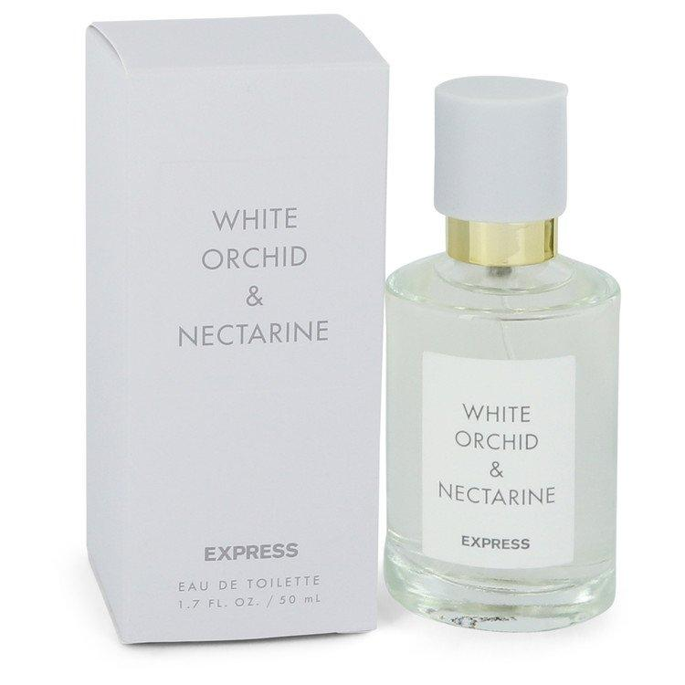 White Orchid & Nectarine by Express Eau De Toilette Spray 1.7 oz for Women - Oliavery