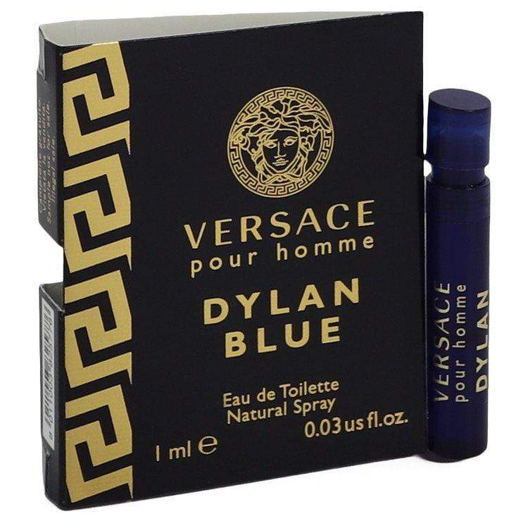 Versace Pour Homme Dylan Blue by Versace Vial (sample) .03 oz for Men - Oliavery