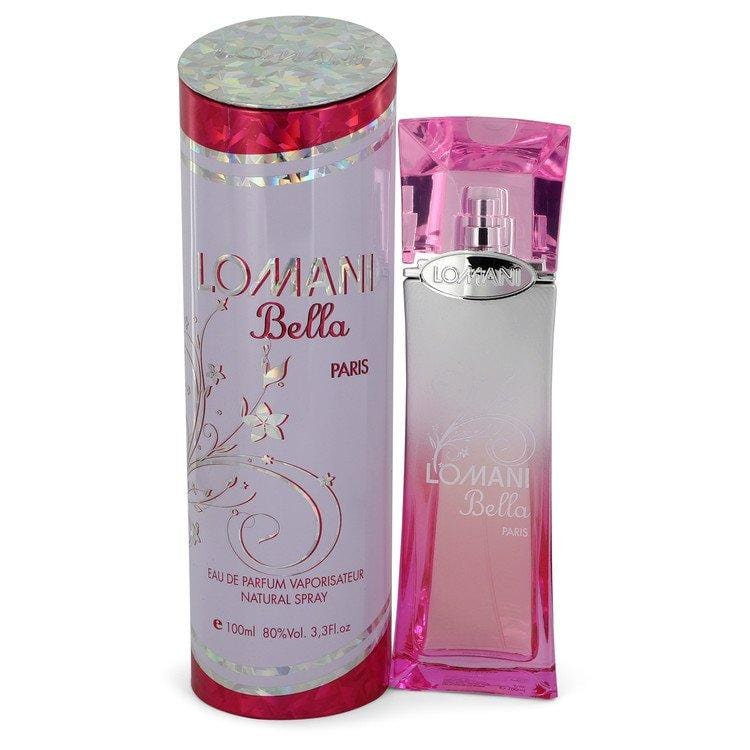 Lomani Bella by Lomani Eau De Parfum Spray 3.3 oz for Women - Oliavery