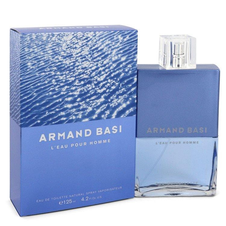 Armand Basi L'eau Pour Homme by Armand Basi Eau De Toilette Spray 4.2 oz for Men - Oliavery