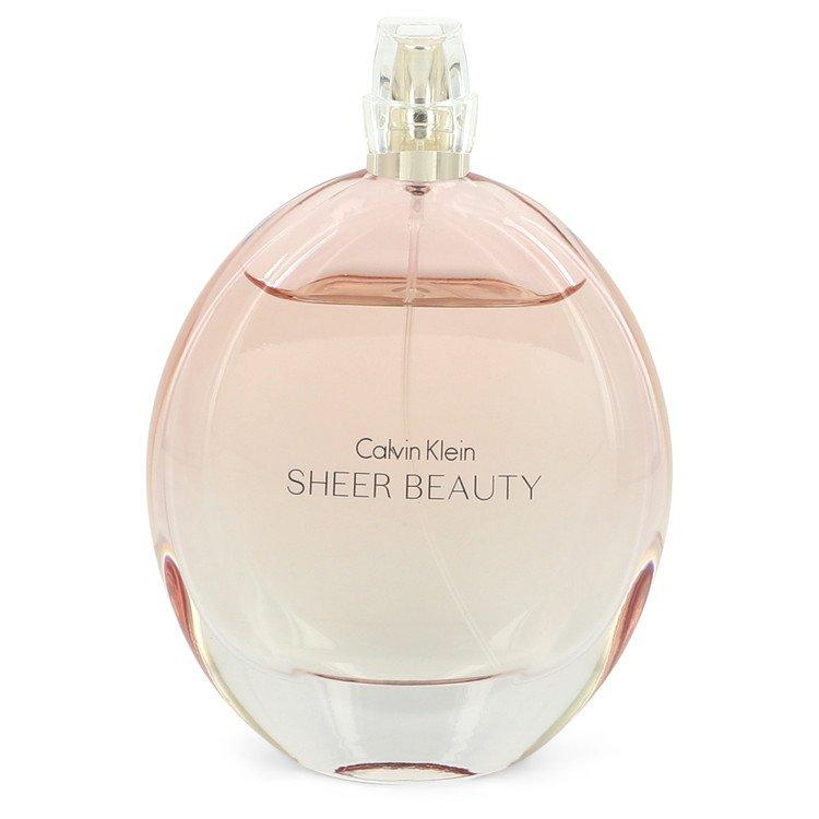 Sheer Beauty by Calvin Klein Eau De Toilette Spray (unboxed) 3.4 oz  for Women