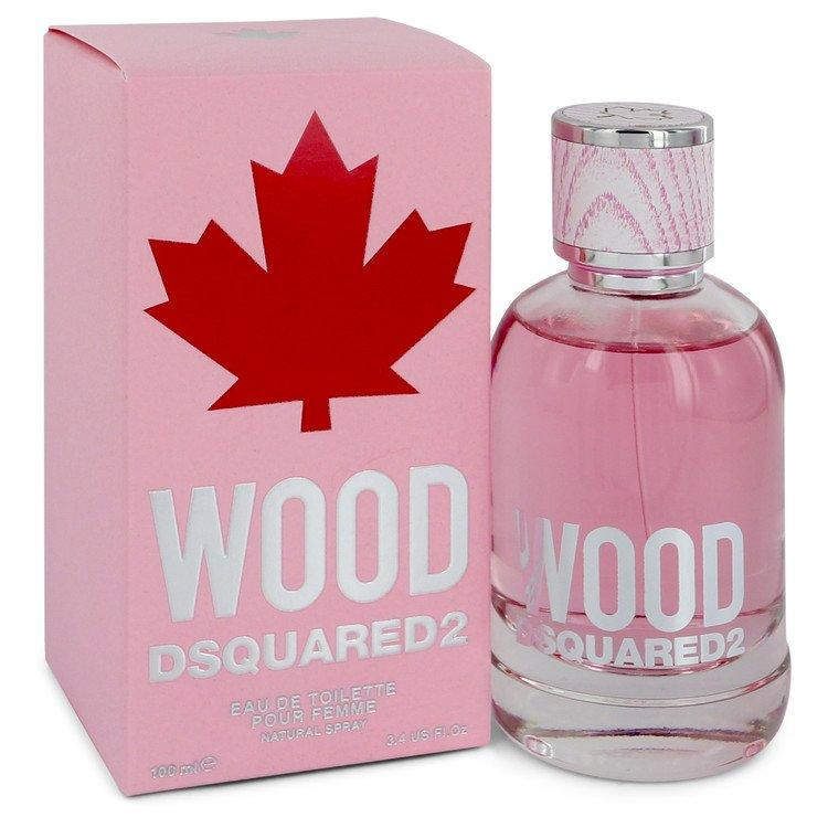 Dsquared2 Wood by Dsquared2 Eau De Toilette Spray 3.4 oz for Women - Oliavery