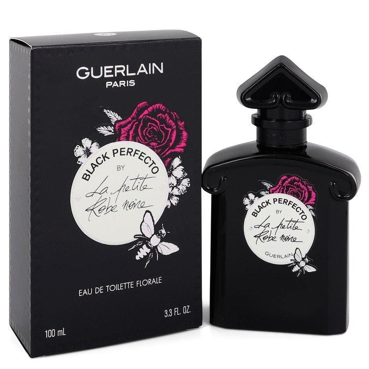 La Petite Robe Noire Black Perfecto by Guerlain Eau De Toilette Florale Spray 3.3 oz for Women - Oliavery