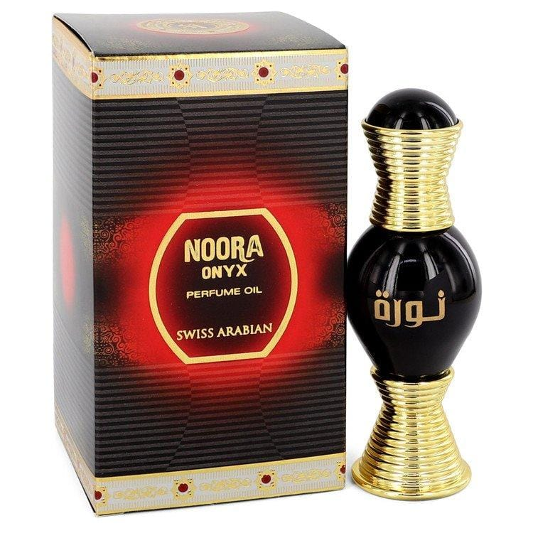 Swiss Arabian Noora Onyx by Swiss Arabian Perfume Oil .67 oz for Women - Oliavery