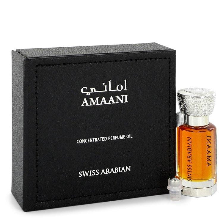 Swiss Arabian Amaani by Swiss Arabian Perfume Oil (Unisex) .40 oz for Men - Oliavery