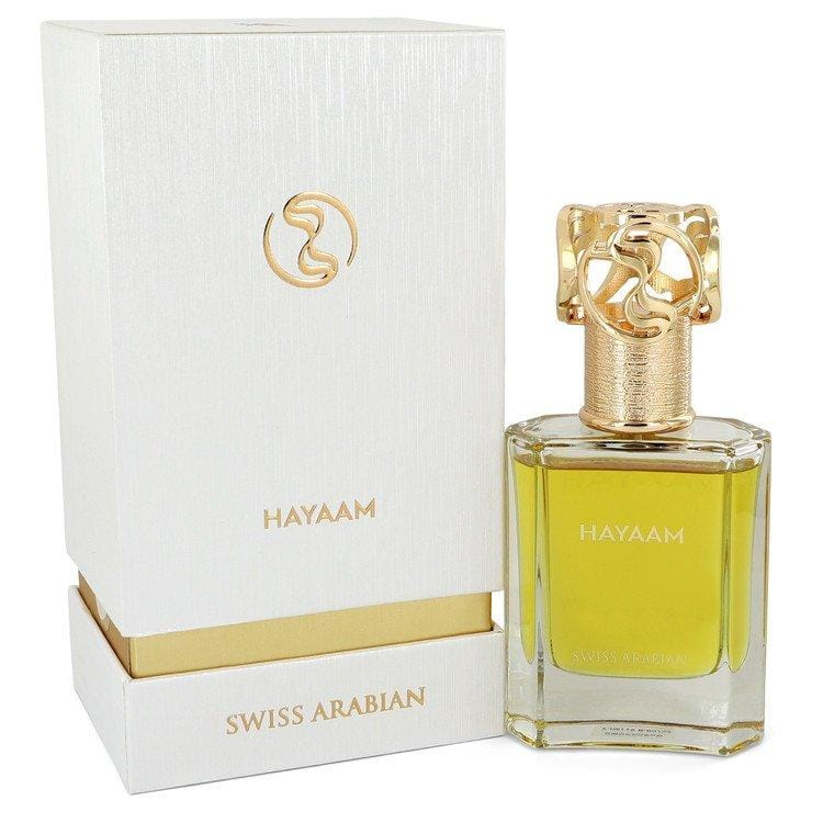 Swiss Arabian Hayaam by Swiss Arabian Eau De Parfum Spray (Unisex) 1.7 oz for Men - Oliavery