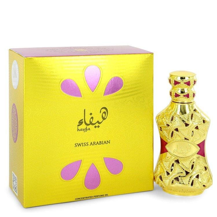 Swiss Arabian Hayfa by Swiss Arabian Concentrated Perfume Oil 0.5 oz for Women - Oliavery