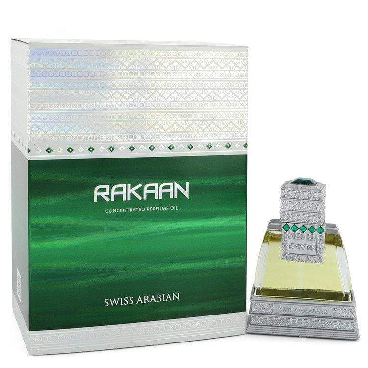 Swiss Arabian Rakaan by Swiss Arabian Concentrated Perfume Oil .85 oz  for Men - Oliavery