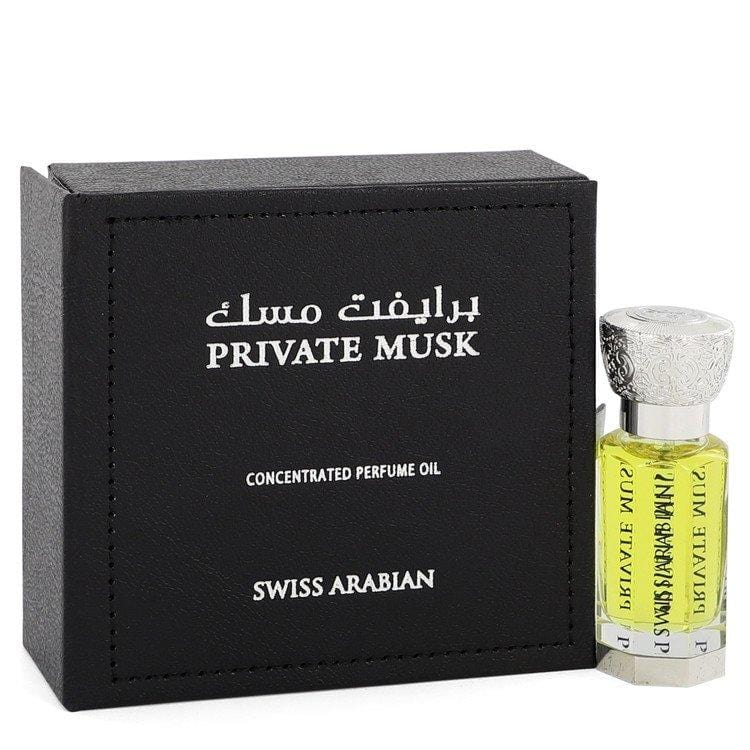 Swiss Arabian Private Musk by Swiss Arabian Concentrated Perfume Oil (Unisex) 0.4 oz for Women - Oliavery