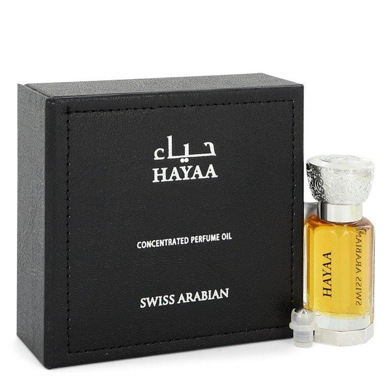 Swiss Arabian Hayaa by Swiss Arabian Concentrated Perfume Oil (Unisex) 0.4 oz for Women - Oliavery