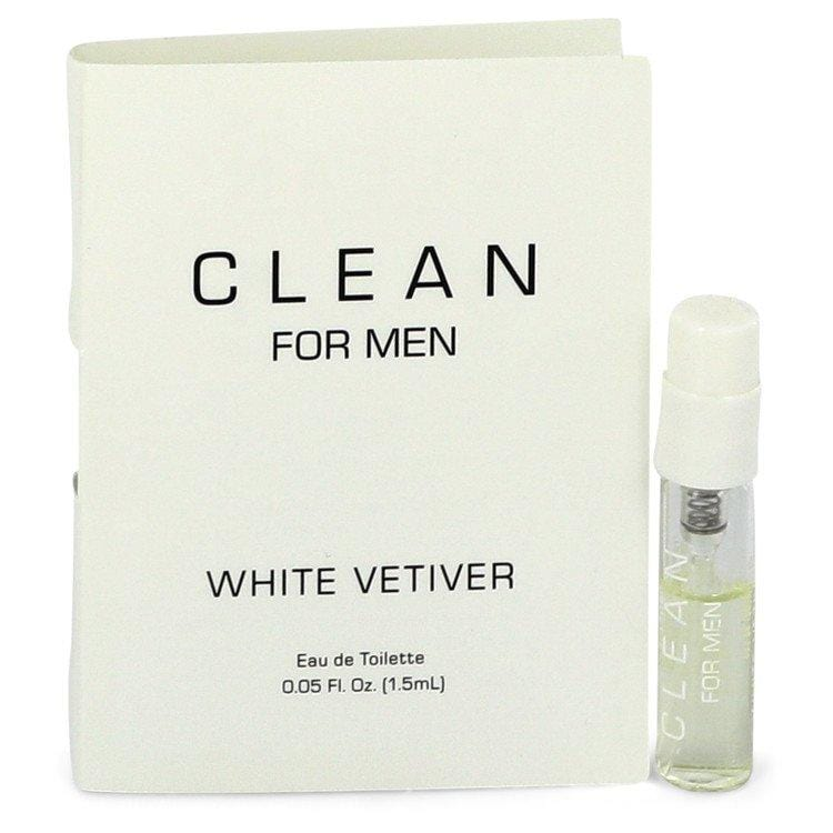 Clean White Vetiver by Clean Vial (sample) .05 oz  for Men - Oliavery