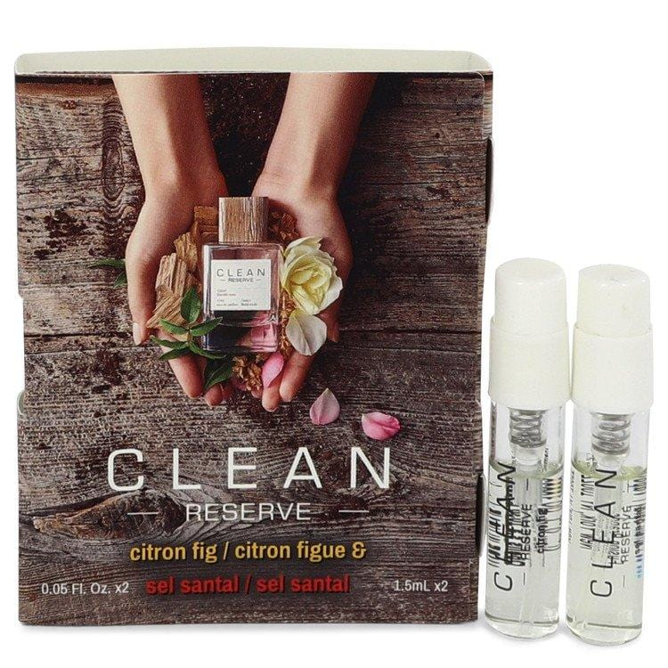 Clean Reserve Citron Fig by Clean Vial Set Includes Citron Fig and Sel Santal .05 oz  for Women - Oliavery