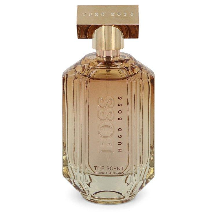 Boss The Scent Private Accord by Hugo Boss Eau De Parfum Spray (unboxed) 3.3 oz  for Women - Oliavery