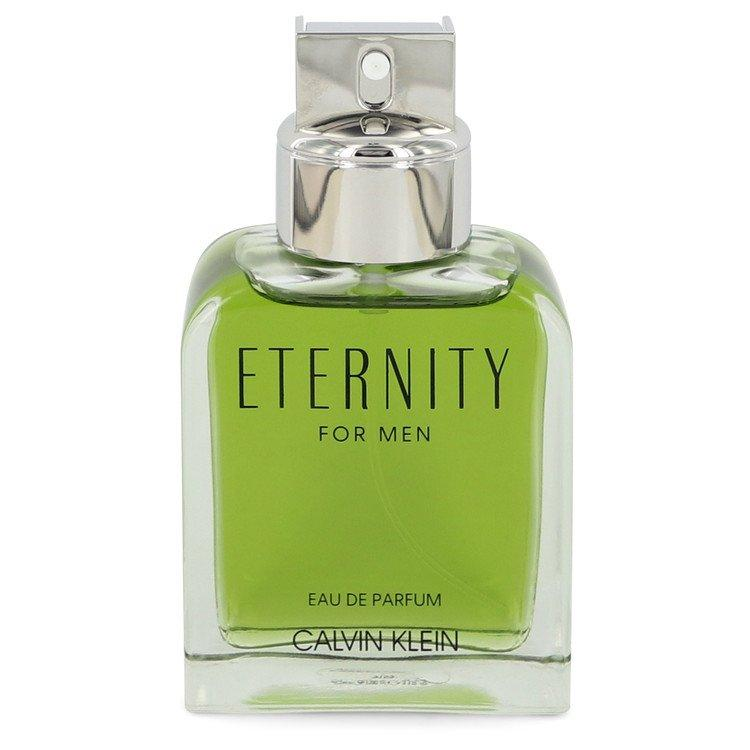 ETERNITY by Calvin Klein Eau De Parfum Spray (unboxed) 3.3 oz  for Men - Oliavery