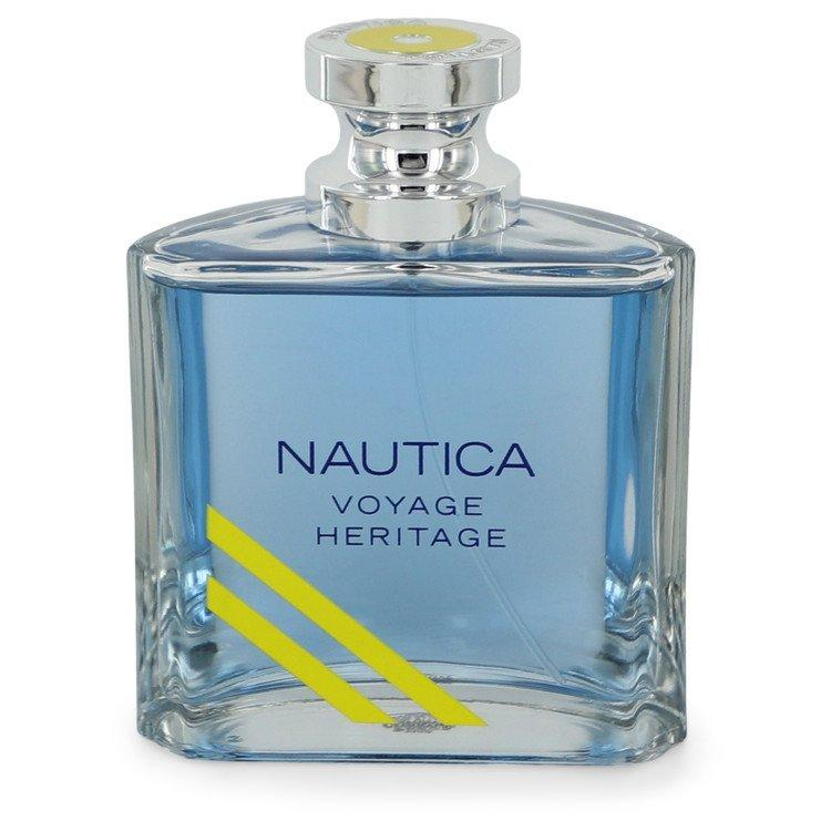 Nautica Voyage Heritage by Nautica Eau De Toilette Spray (unboxed) 3.4 oz  for Men