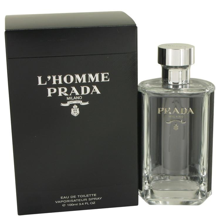 Prada L'homme by Prada Eau De Toilette Spray (unboxed) oz for Men