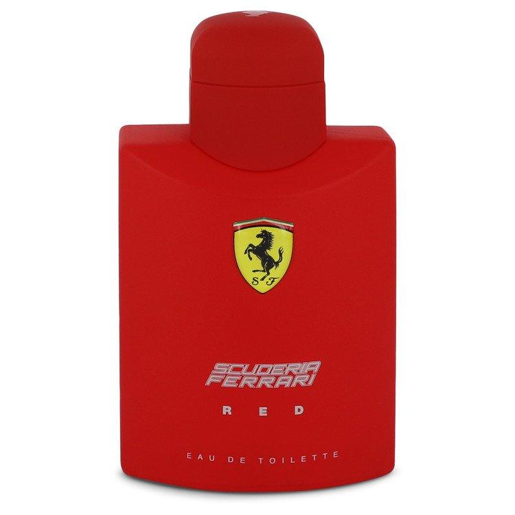 Ferrari Scuderia Red by Ferrari Eau De Toilette Spray (unboxed) 4.2 oz  for Men - Oliavery