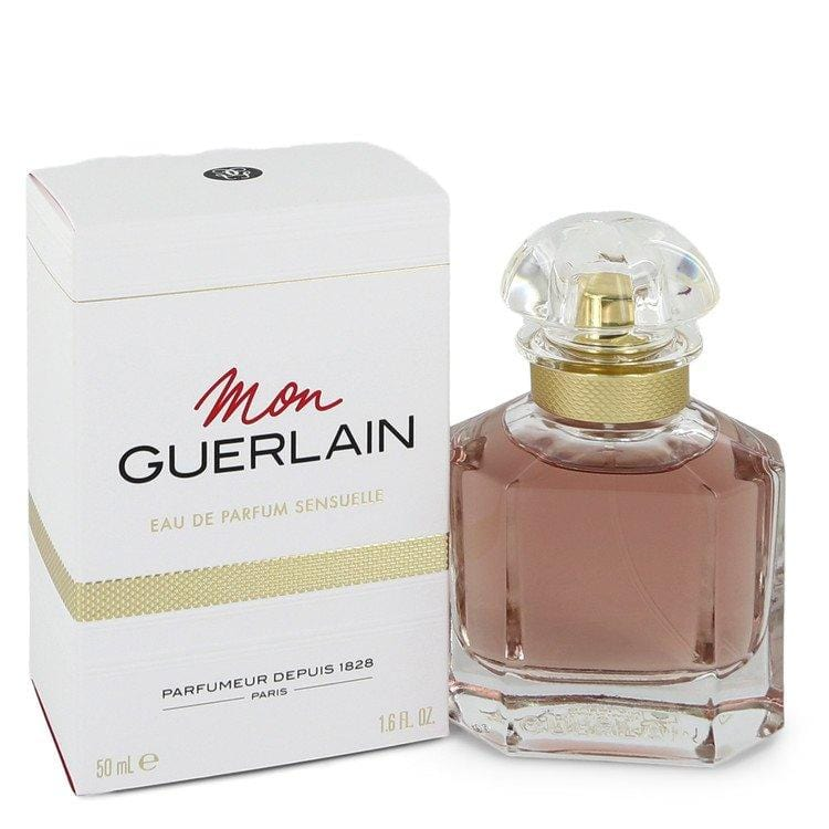 Mon Guerlain Sensuelle by Guerlain Eau De Parfum Spray 1.6 oz for Women - Oliavery