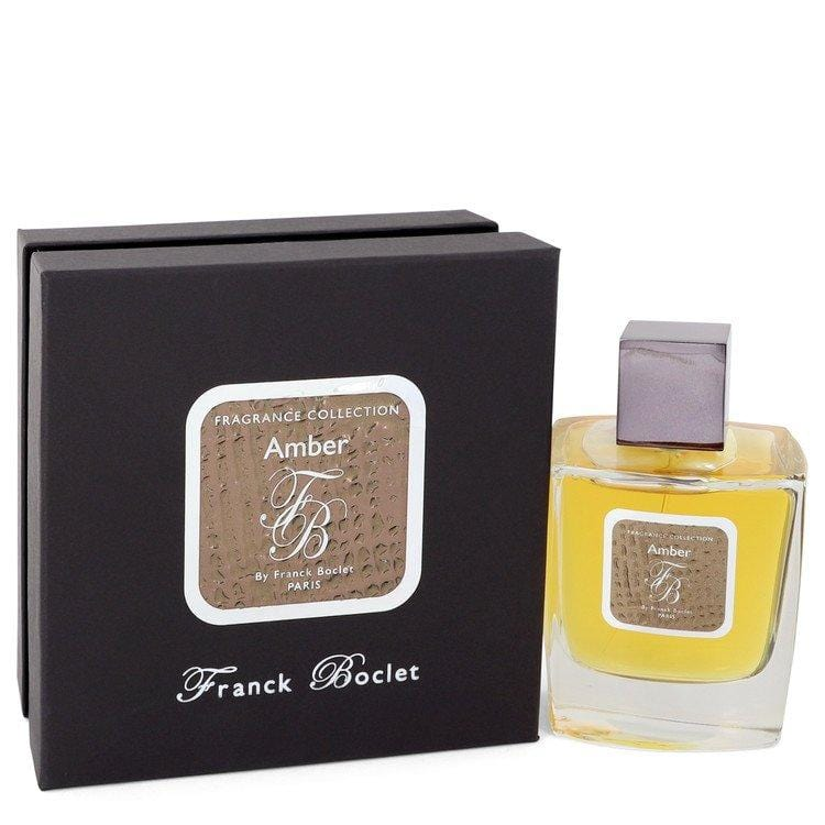 Franck Boclet Amber by Franck Boclet Eau De Parfum Spray (Unisex) 3.4 oz for Men - Oliavery