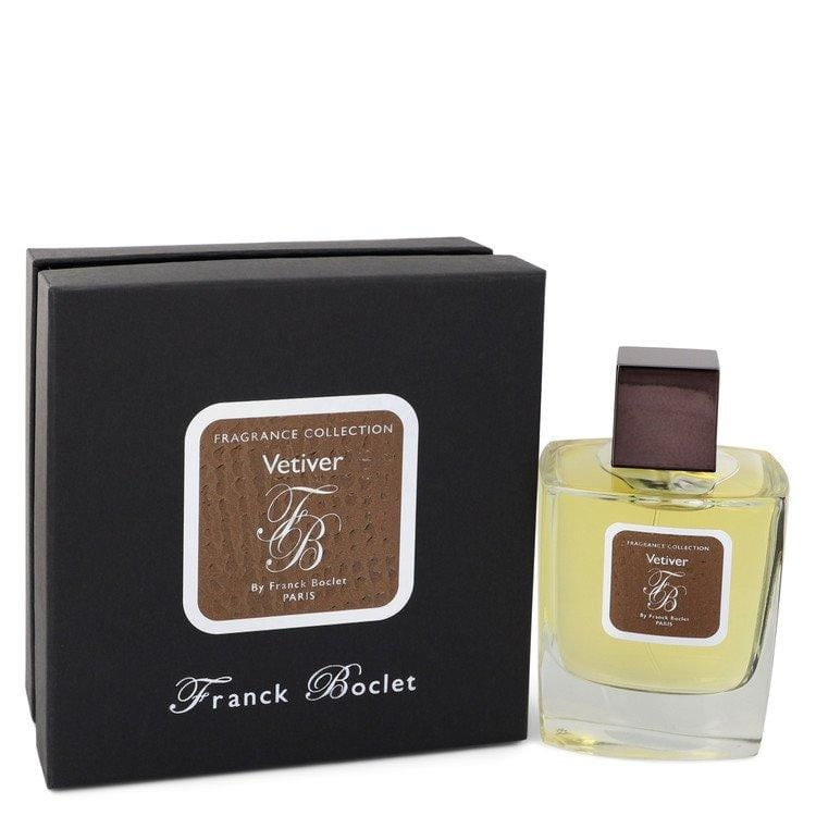 Franck Boclet Vetiver by Franck Boclet Eau De Parfum Spray (Unisex) 3.3 oz for Women - Oliavery