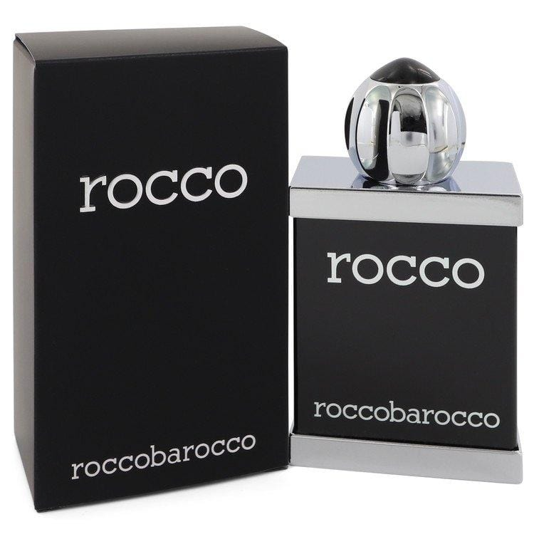 Rocco Black by Roccobarocco Eau De Toilette Spray 3.4 oz for Men - Oliavery
