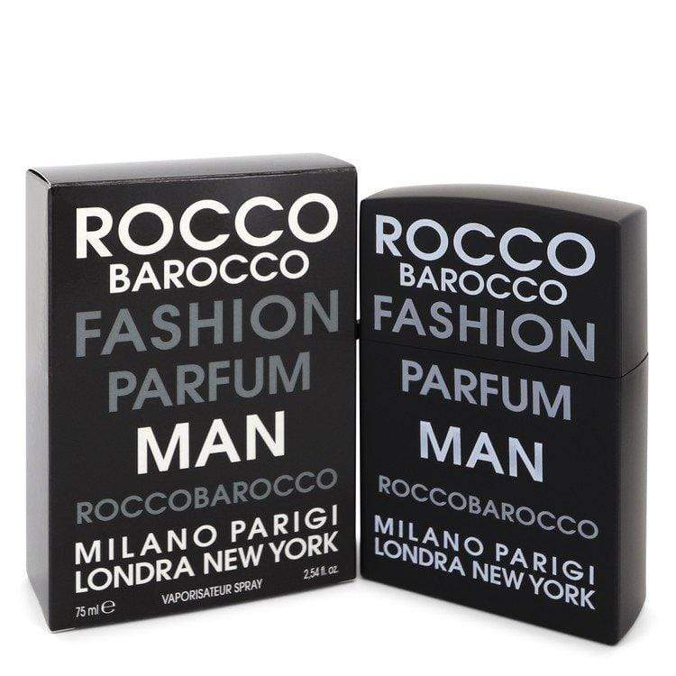 Roccobarocco Fashion by Roccobarocco Eau De Toilette Spray 2.54 oz for Men - Oliavery