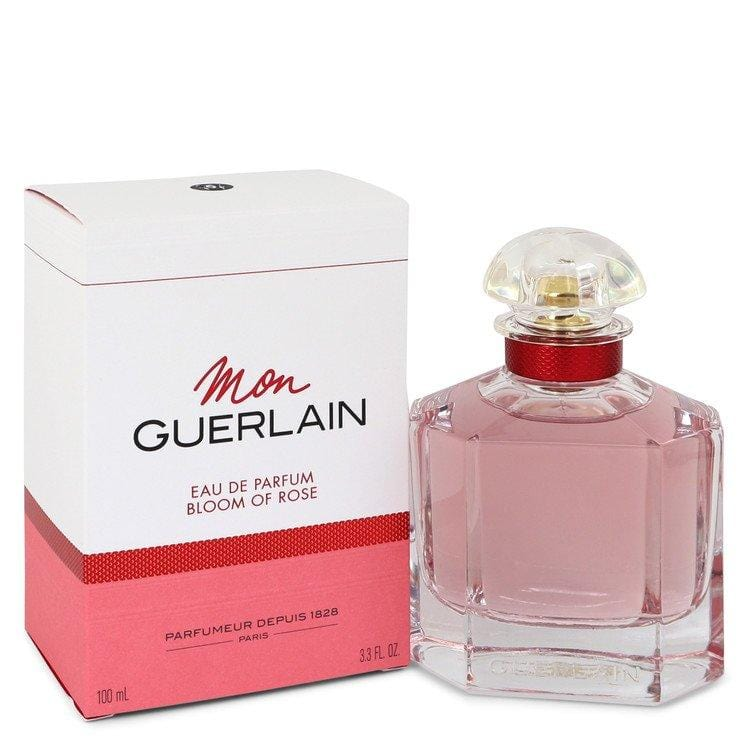 Mon Guerlain Bloom of Rose by Guerlain Eau De Parfum Spray 3.3 oz for Women - Oliavery