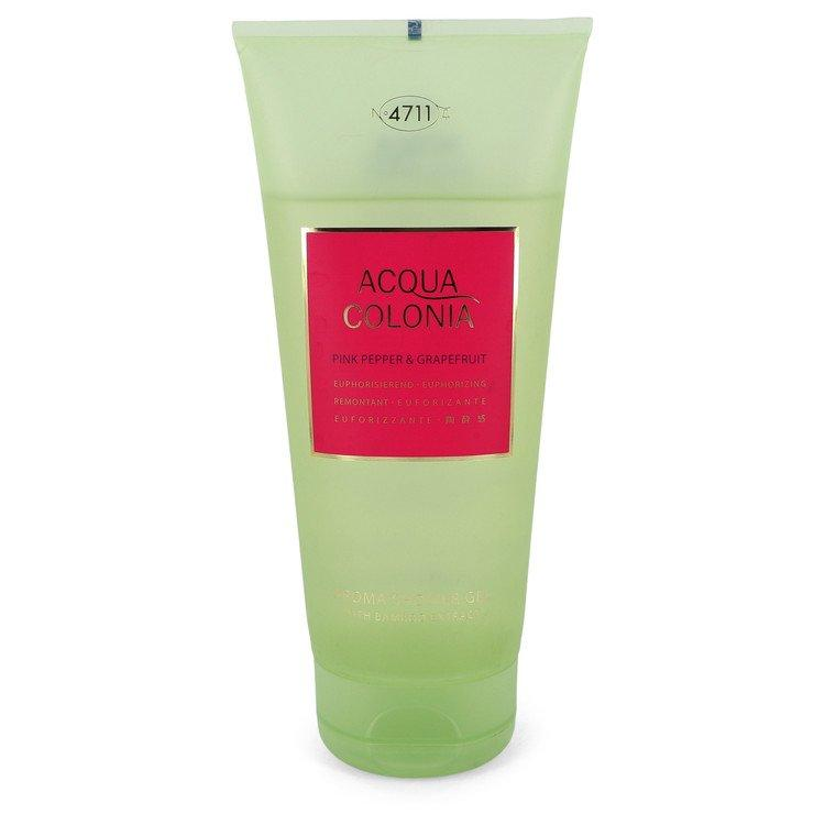 4711 Acqua Colonia Pink Pepper & Grapefruit by 4711 Shower Gel (unboxed) 6.8 oz for Women - Oliavery