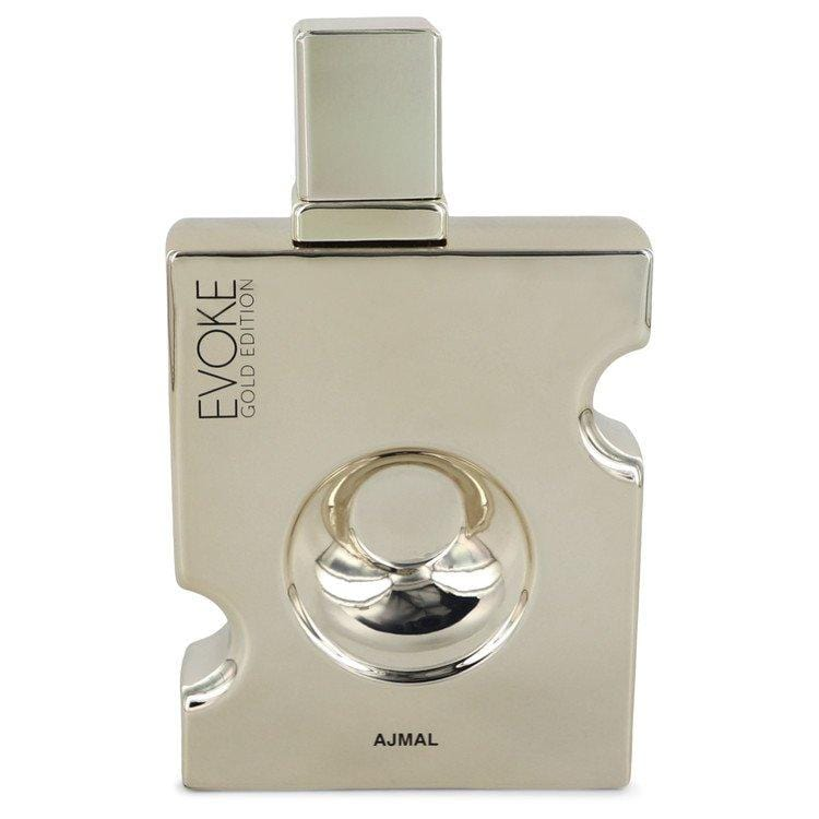 Evoke Gold by Ajmal Eau De Parfum Spray (unboxed) 3 oz for Men