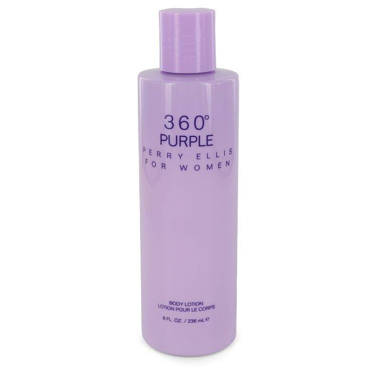 Perry Ellis 360 Purple by Perry Ellis Body Lotion 8 oz for Women - Oliavery