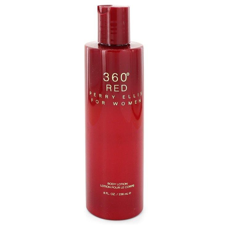 Perry Ellis 360 Red by Perry Ellis Body Lotion 8 oz for Women - Oliavery