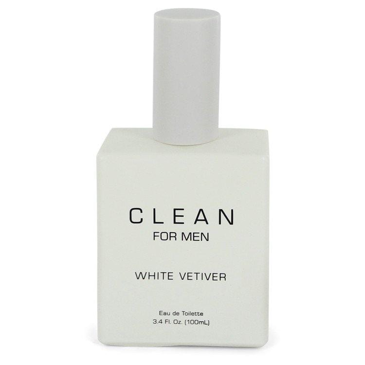 Clean White Vetiver by Clean Eau De Toilette Spray (unboxed) 3.4 oz for Men